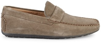 HUGO BOSS Dandy Suede Driving Loafers