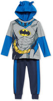 Nannette Little Boys' 2-Pc. Batman Hoodie & Pants Set