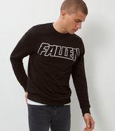 New Look Black Fallen Sweater