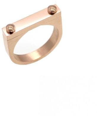 Opes Robur Opes D2 Ring Rose Gold