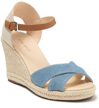 Nine West Joy Espadrille Wedge Sandal
