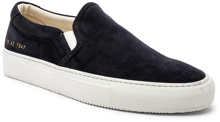 Common Projects Slip On Sneaker in Black | FWRD