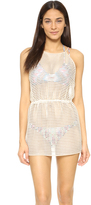 Milly Basket Weave Anacapri Cover Up Dress