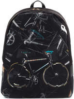 Paul Smith printed bycicle backpack