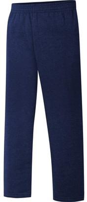 Hanes Boys 4-20 EcoSmart Open Leg Fleece Active Sweatpant with Pockets