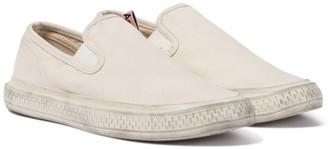 Acne Studios Canvas slip-on sneakers