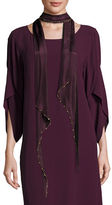 Eileen Fisher Beaded Whisper Silk Infinity Scarf