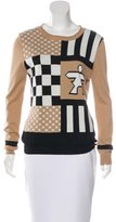 Timo Weiland Intarsia Long Sleeve Sweater