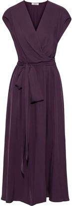 Jason Wu Wrap-effect Twill Midi Dress