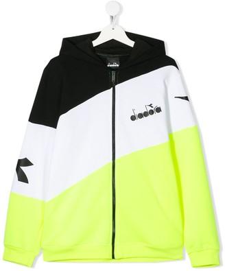 Diadora Junior TEEN striped hoodie