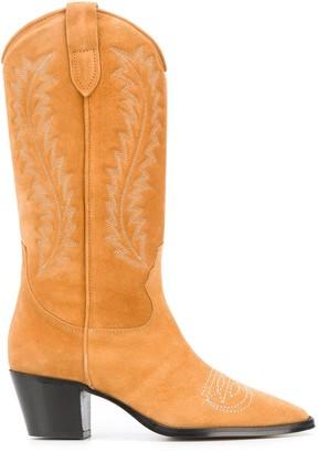 Paris Texas stitch detail Texan boots