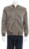 Marc Jacobs Fur-Lined Bomber Jacket