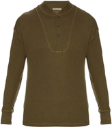 Bottega Veneta Long-sleeved henley T-shirt