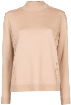 DELPOZO Shoulder-Button Jumper