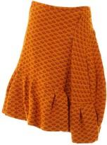 Marni Orange Wool Skirts