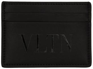 Valentino Black Garavani VLTN Card Holder