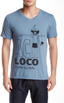Spenglish Act Loco Think Global Tee