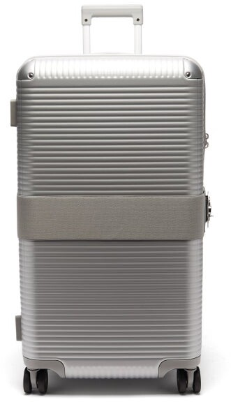 FPM Milano Bank Zip Spinner 73 Check-in Suitcase - Silver