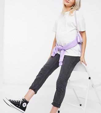 Topshop Maternity weekend t-shirt in white