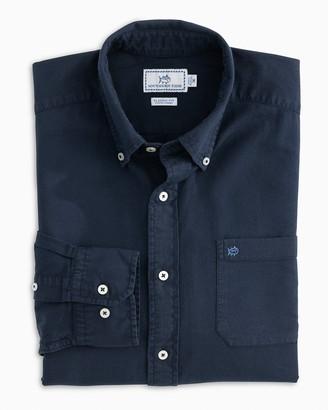 Southern Tide Garment Dyed Oxford Sport Shirt