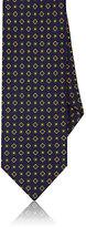 Drakes Drake's Men's Medallion Print Silk Necktie