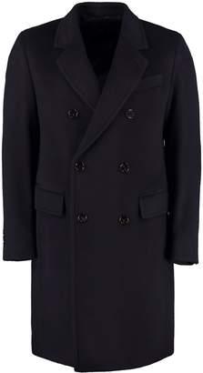 HUGO BOSS Double-breasted Wool Coat