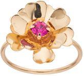 Lauren Conrad Pink Stone Flower Ring