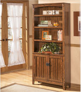 Signature Design by Ashley Cross Island 3-Shelf Bookcase