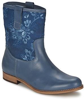 Alba Moda FALINA women's Mid Boots in Blue