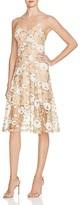Dress the Population Anne Floral Slip Dress