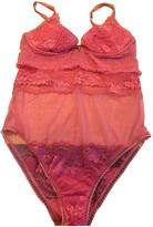 La Perla Pink Lace Top for Women
