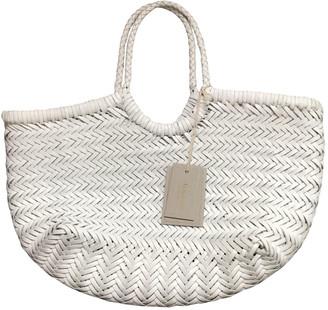 DRAGON DIFFUSION White Leather Handbags