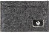 Dolce & Gabbana metallic logo wallet - men - Calf Leather - One Size