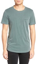 Velvet by Graham & Spencer Men's Raw Edge Pocket T-Shirt