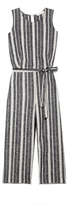 Two by Vince Camuto Striped Culotte Jumpsuit