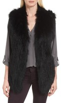 La Fiorentina Women's Genuine Fox Fur Vest