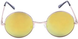 Jordan Yellow Round Festival Ready Sunglasses