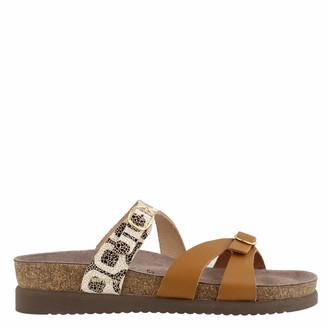Mephisto Women's Hannel Sandals Camel 6 W US