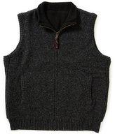 Pendleton Territory Reversible Mock Neck Zip-Front Vest