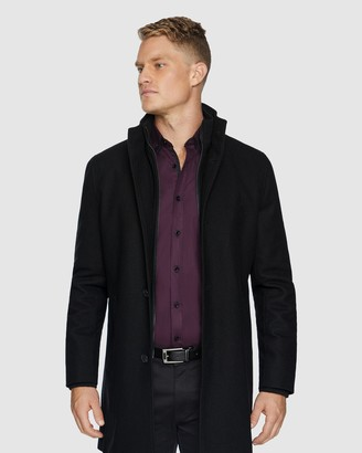 TAROCASH Northfield Wool Blend Coat