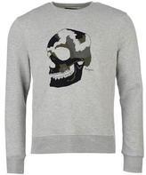 Religion Big Skull Crew Sweater