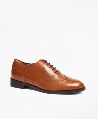 Brooks Brothers Leather Wingtip Brogues