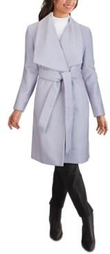 Cole Haan Belted Wrap Coat