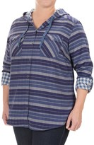 Columbia Times Two Shirt - Hooded, Long Sleeve (For Plus Size Women)
