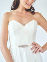 Etsy Small Bridesmaid Sash | Crystal Bridal Belt | Small Wedding Dress Sash | Rhinestone Beaded Sash Belt