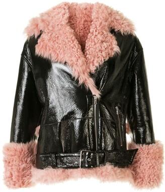 Sandy Liang Bowery Moto jacket