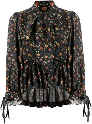 Lug Von Siga Cherrie long-sleeved blouse