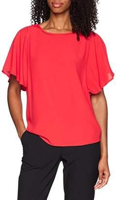 More & More Women's Bluse Regular Fit Long Sleeve Blouse,10 (Manufacturer Size: )
