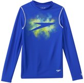 Speedo Boys' Galaxy Boom Long Sleeve Swim Tee (8yrs20yrs) - 8137133