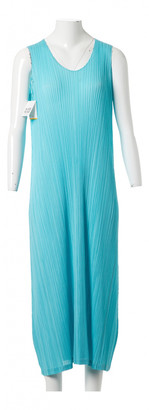 Issey Miyake Blue Synthetic Dresses